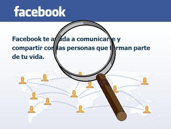 como buscar palabra facebook
